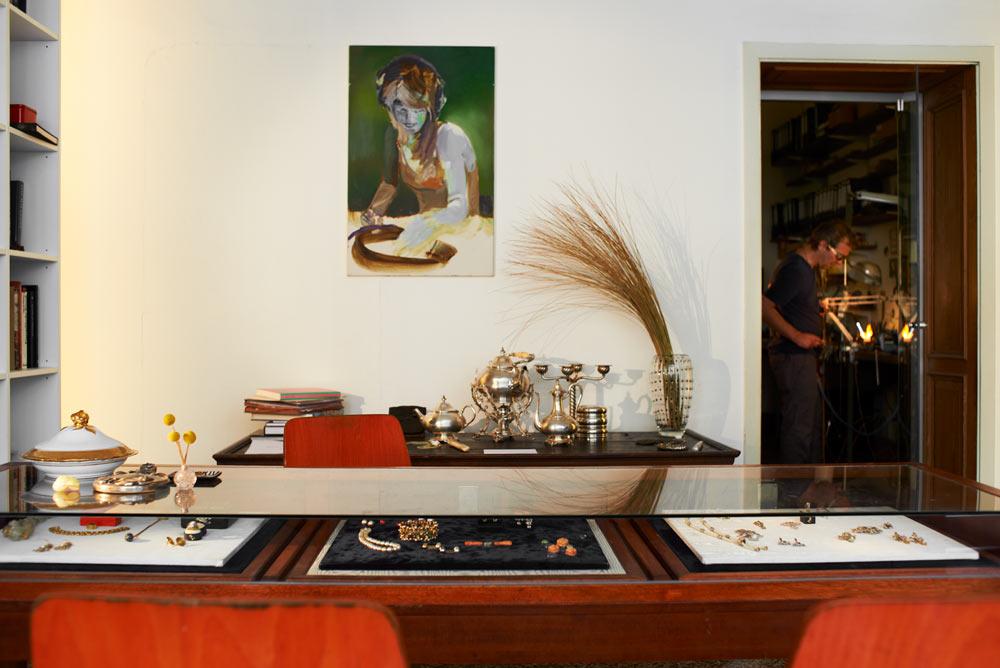 Goldschmiede Köln - Werkstatt / Laden von Kaya Wilbrandt